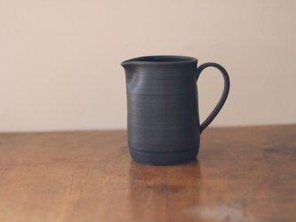 陶器のコーヒーサーバー 黒の画像