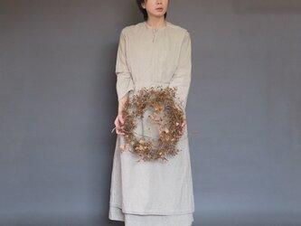 【受注制作】トラディショナルアーミッシュドレス◇好きな色を選べる *コットンリネン素材*の画像