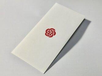 【切り絵の封筒】梅結び 2枚入りの画像