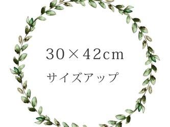 【サイズアップ】30×42cmの画像