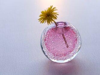 泡の一輪挿(ゴールドルビー)の画像