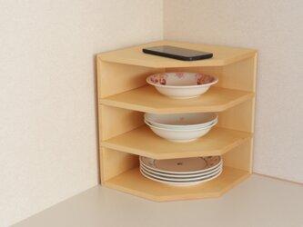 「ひば」 キッチン棚 A /KGA2[注文制作]の画像
