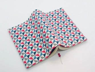 和柄 風車のブックカバー 両ポケットタイプ 文庫本用の画像
