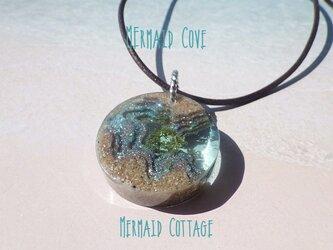 Mermaid Cove 人魚の入江*革紐ペンダント の画像