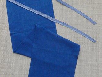 藍木綿のフンドシの画像