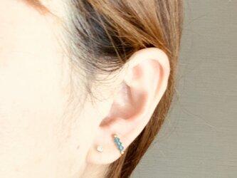 〔14kgf〕Indigo blue * hematiteの画像