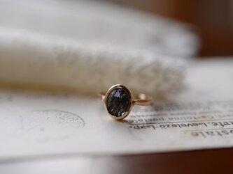 bellecoloris トルマリンクォーツリングの画像