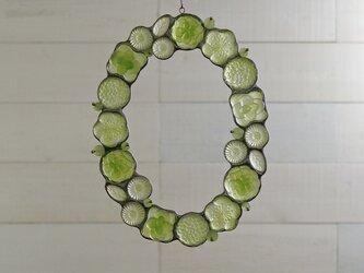 ガラスのリース [若草色]Lの画像