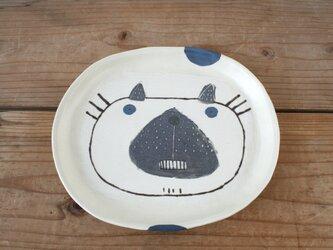 シャムネコの大皿の画像