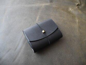 お財布 黒の画像