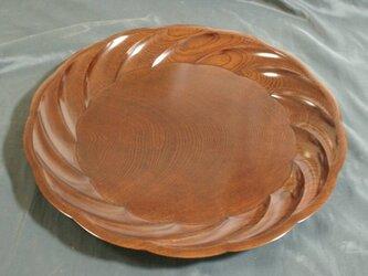 第10回伝統工芸木竹展受賞作 欅拭漆盛器(けやきふきうるしのもりき)  IM217の画像