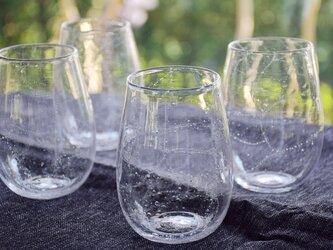 網泡グラスの画像