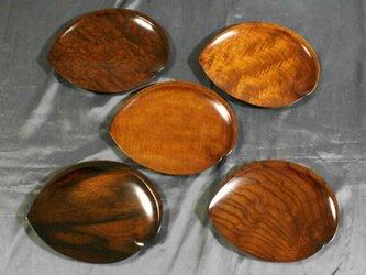 第39回日本伝統工芸近畿展受賞作品 五木拭漆木皿(いつぎふきうるしのきざら)  IM232の画像