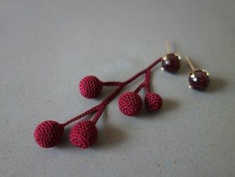 fusa bordeaux(small/片耳)の画像