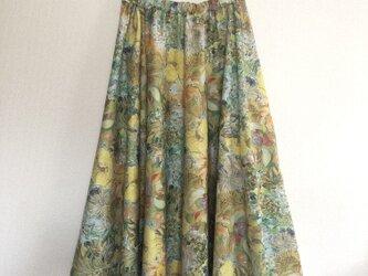 マリーナシーフラワー   サキュラースカートの画像