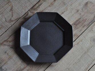 オクタングルリムプレート7寸/黒の画像