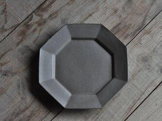 オクタングルリムプレート7寸/グレーの画像
