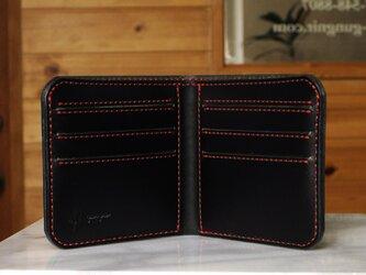 シンプルな折財布A No.3 ブッテーロの画像