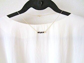 goldline black ネックレスの画像