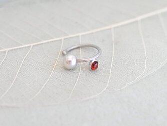 garnet -ear cuff-の画像