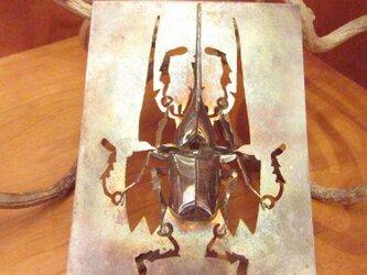 昆虫 ヘラクレスオオカブトムシの画像