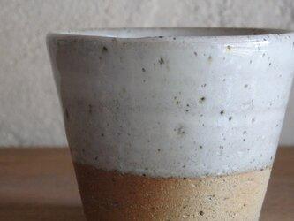 そばちょこカップ・whiteの画像