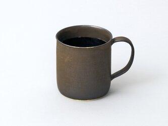 たっぷりマグカップ 大きめコーヒーカップ tall(ブロンズ/黒)の画像