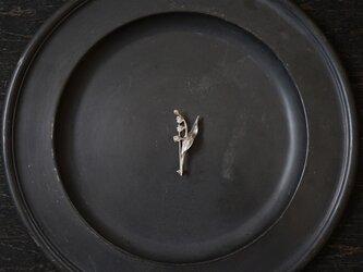 スズランブローチ silverの画像