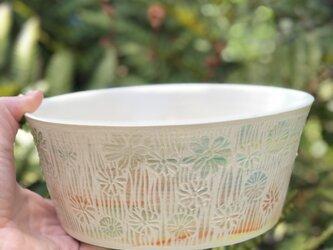 Kakiotoshi Large bowl - ヒナギクの画像