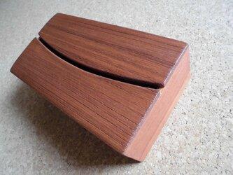 テイッシユボックス,スリットタイプー桐材ー(多くの方々が再販を希望されました)の画像