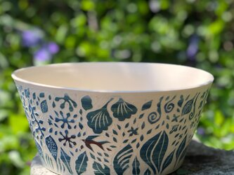 Kakiotoshi Large bowl - つばめの画像