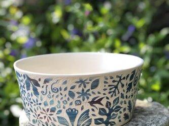 Kakiotoshi Large bowl - もう一羽のつばめの画像