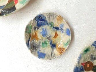 明るく、楽しく、美味しく! NORMAL 丸小皿3の画像