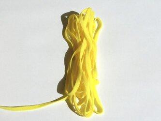 ウーリースピンテープ5m  黄色3 マスクの代用ゴム紐にもの画像