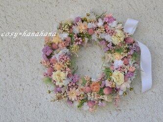 【母の日2020】野花の風wreathの画像