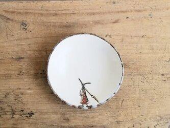 小皿no.47 ウサギ(かさ)の画像