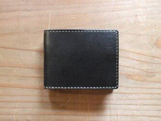 【一点物即納品】二つ折り財布 ~インポートオイルレザー~の画像