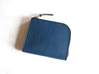 【一点物即納品】L字ファスナー小さい財布 ~トスカーナ×栃木レザー~の画像
