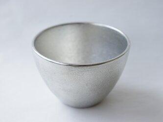 純錫製「丸ぐい呑み」の画像