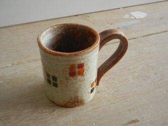 百色(ももいろ)象嵌 デミタスカップ 四角紋の画像