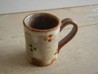 百色(ももいろ)象嵌 デミタスカップ 丸紋の画像