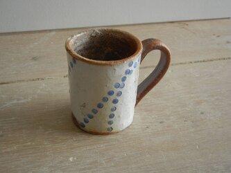 百色(ももいろ)象嵌 デミタスカップ 水滴の画像