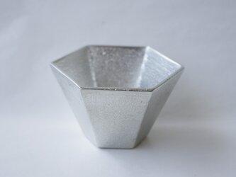 純錫製「六角ぐい呑み」の画像