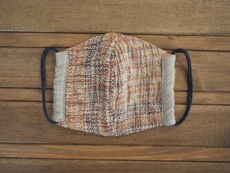 手織り ダブルガーゼ マスク Lサイズの画像