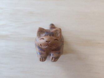 ちび猫=^人^=アメショ風の画像