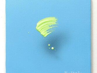 浮遊する筆触 【Layer 20026】 18 x 18cmの画像