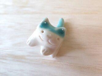 ちび猫=^人^=青ネコ2の画像