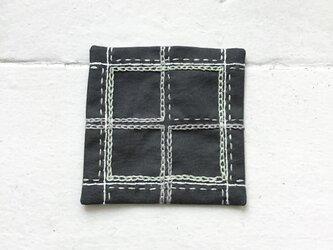 コースター[窓]grayの画像