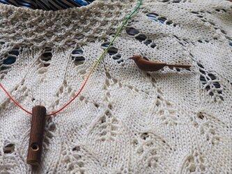 チドリ笛 Plovers Whistle ~鳥笛雑木シリーズ~の画像