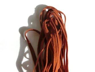 ウーリースピンテープ5m  茶色148 マスクの代用ゴム紐にもの画像